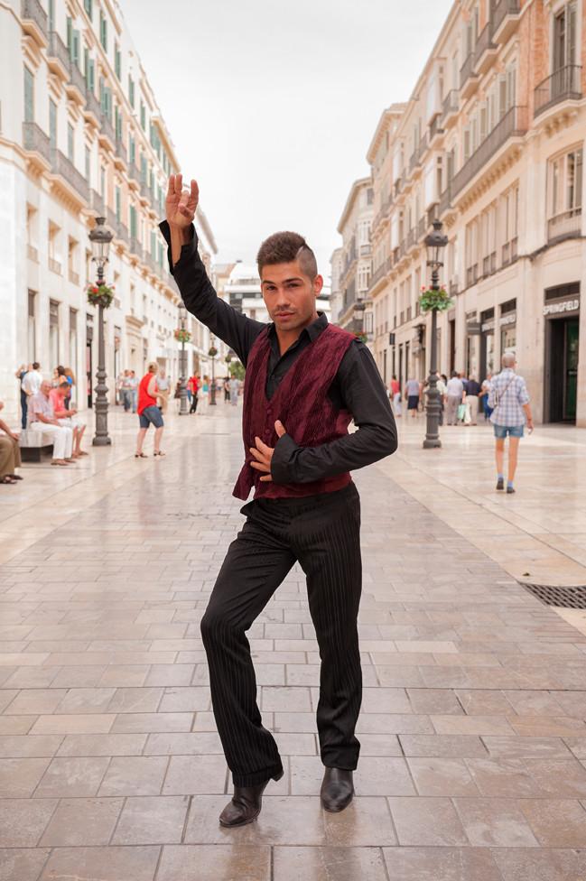 Soy 'bailao' de flamenco