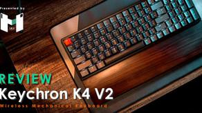 Review : Keychron K4 V2  Keyboard ไร้สาย ปุ่มครบ แบตอึด ครบจริง ! ทุกฟังค์ชั่น