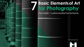 7 องค์ประกอบศิลป์ ในงานถ่ายภาพ