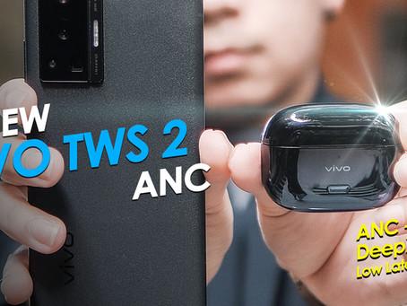 VIVO TWS 2 ANC หูฟัง In-ear ตัดเสียงดี ไร้สาย ไร้ดีเลย์