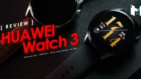 Huawei Watch 3 หน้าปัดสวย ฟังค์ชั่นแน่น กับครั้งแรกของ Harmony OS บน สมาร์ทวอทช์