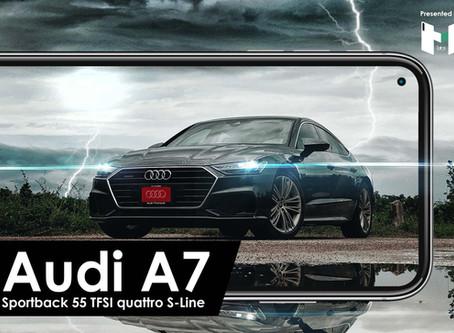 Impression : Audi A7 Sportback รถหรูคันใหญ่เอาใจคนรักการขับขี่