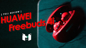 [ Review ] HUAWEI Freebuds 4i หูฟัง In-Ear Design ดี เบสแน่น ฟังได้ยาวนาน 10 ชม.