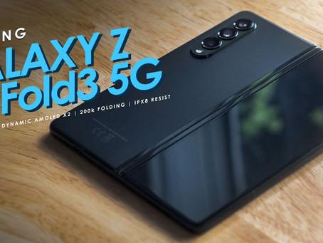 Galaxy Z Fold 3 มือถือจอพับ จอแข็งแรงขึ้น กล้องสวย ในราคาที่สบายกระเป๋ากว่าเดิม