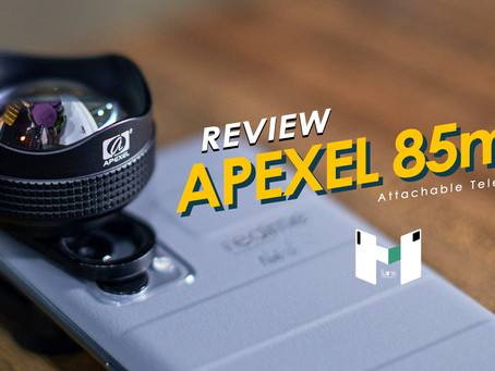 รีวิว Apexel Telephoto 85mm เลนส์เสริมสุดเจ๋ง ที่ไม่ได้ดึงมาแค่ระยะ ได้มิติมาเต็ม
