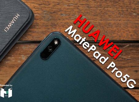 HUAWEI MatePad Pro 5G : Premium Tablet 5G ฝาหลังหนังสุดหรูหรา กับปากกาที่ฟีลลิ่งดี