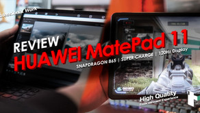 HUAWEI MatePad 11 จอลื่น 120Hz สเปคสุดคุ้ม ทั้งเล่น ทั้งทำงานครบ จบในตัวเดียว