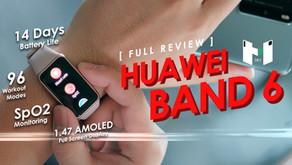 [ Review ] Huawei Band 6 ฟังค์ชั่นครบ จบในราคา พันกว่าบาท