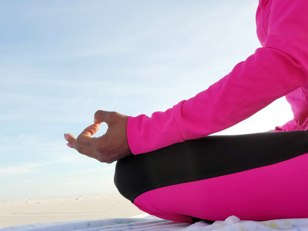 KEL Meditating