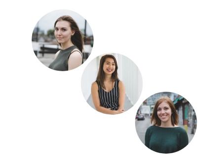 Interviewing Toronto Entrepreneurs: Stephanie Andrews, Brittany Nguyen, & Alison Osborne