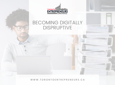 Becoming Digitally Disruptive