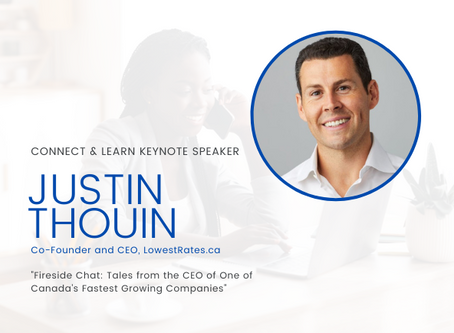 Check out Justin Thouin's Recording from our September 2020 Connect & Learn Event