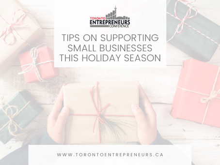 Tips on Supporting Small Businesses this Holiday Season