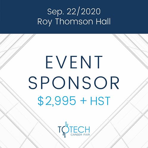 Event Sponsor (Sep 22, 2020)