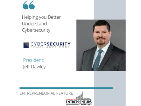 Entrepreneurial Feature: Cybersecurity Compliance Corp.