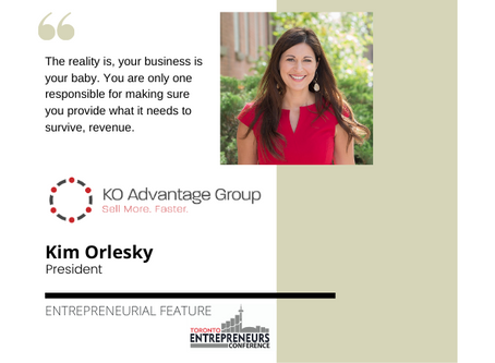 Entrepreneurial Feature: Kim Orlesky, President