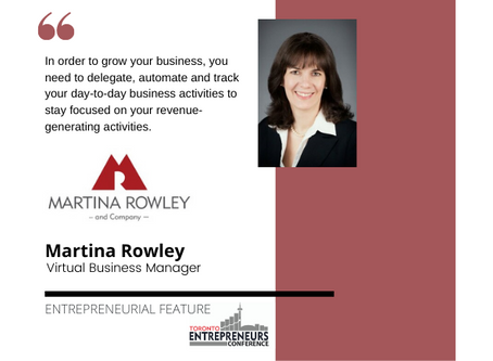 Entrepreneurial Feature: Martina Rowley, Virtual Business Manager