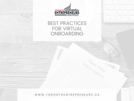 Best Practices for Virtual Onboarding