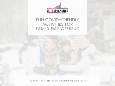 Fun COVID-Friendly Activities for Family Day