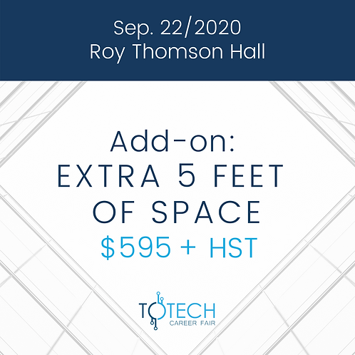 Extra 5 feet of space (Sep 22, 2020)