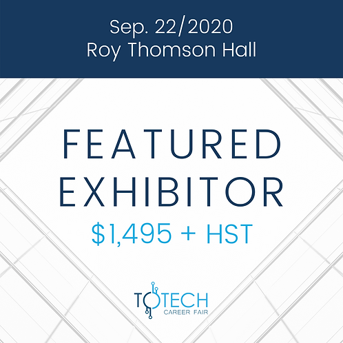 Featured Exhibitor (Sep 22, 2020)