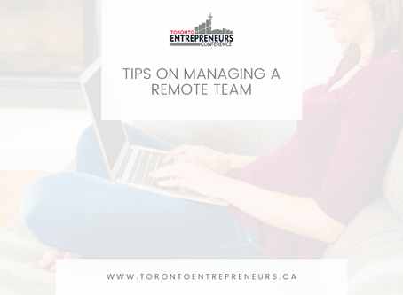 Tips on Managing a Remote Team
