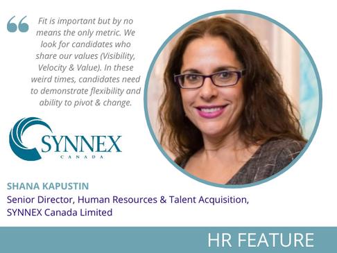 HR Feature: Shana Kapustin, Senior Director, Human Resources & Talent Acquisition