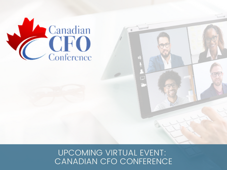 Upcoming Virtual Event: Canadian CFO Conference
