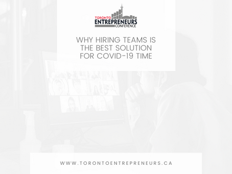 Why Hiring Teams is the Best Solution for COVID-19 Time