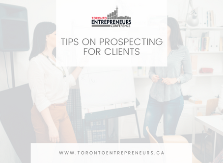 Tips on Prospecting for Clients