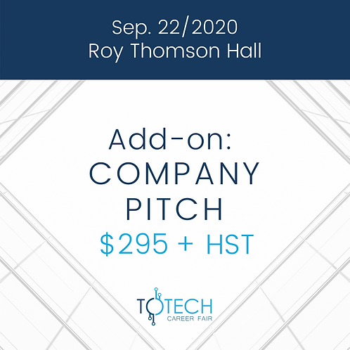 Company Pitch (Sep 22, 2020)