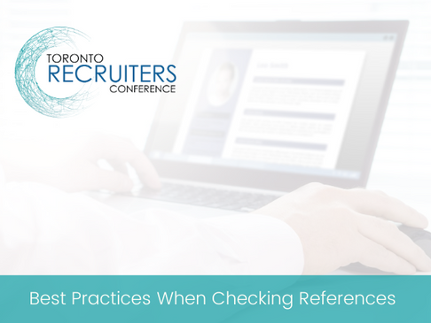 Best Practices When Checking References