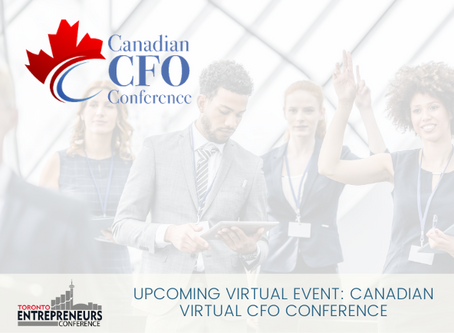 Upcoming Virtual Event: Canadian Virtual CFO Conference