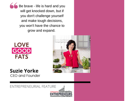 Entrepreneurial Feature: Suzie Yorke, CEO and Founder