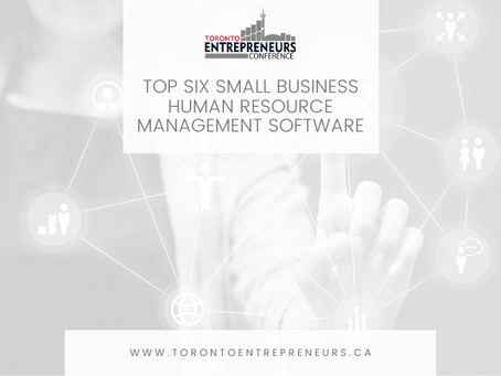 Top Six Small Business Human Resource Management Software
