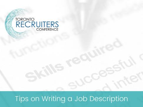 Tips on Writing a Job Description