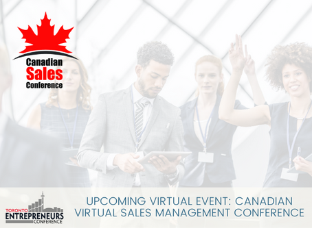 Upcoming Virtual Event: Canadian Virtual Sales Management Conference