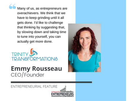 Entrepreneurial Feature: Emmy Rousseau, CEO/Founder