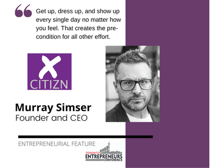 Entrepreneurial Feature: Murray Simser, Founder and CEO