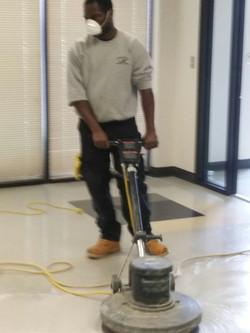 strip and wax floors