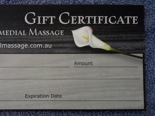 60min Gift Certificate