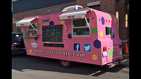 Spotz Gelato Sorbet Kentucky Proud vintage trailer food truck Lexington wedding weddings catering events festivals parties