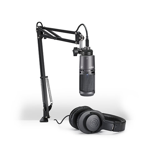 AUDIOTECHNICA - Ensemble pour podcast USB