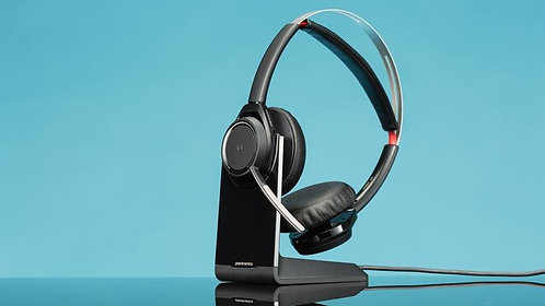POLY - VOYAGER FOCUS UC BT HEADSET,B825
