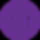 Símbolo  Púrpura RentDis.png