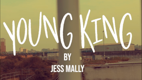 POET IN THE KENNEL: Young King by Jess Mally
