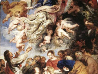 2019 Assumption of the Blessed Virgin Mary, a Holy Day of Obligation