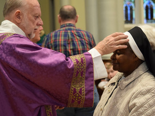 Ash Wednesday and the distribution of Ashes