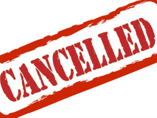 September 12 evening Faith Formation activities cancelled / Catequesis cancelada septiembre 12