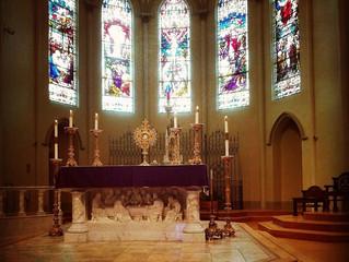 2019 Eucharistic Adoration during Lent